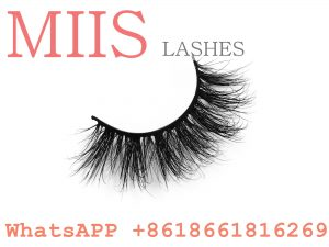 3D siberian mink fur false eyelashes