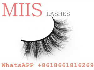 packaging 3d private label mink eyelashes